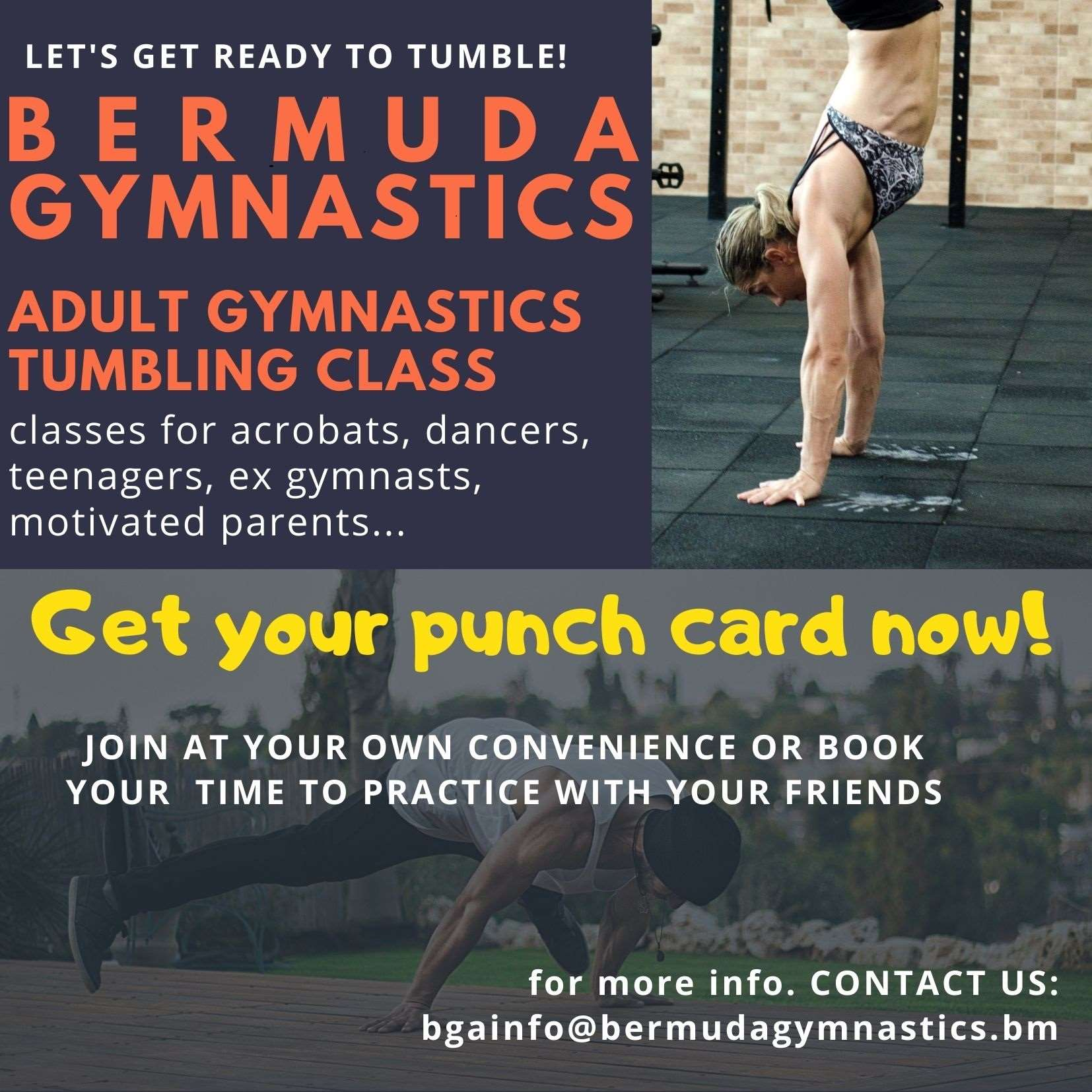 Adult Gymnastics class updated